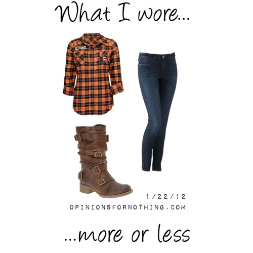 What I Wore: 1/22/12