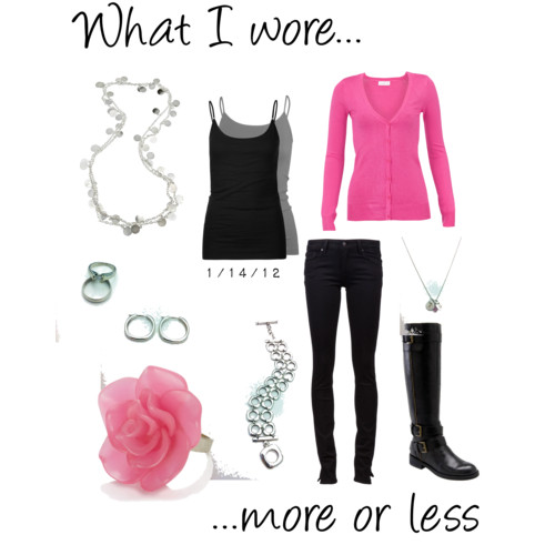 What I Wore: 1/14/12