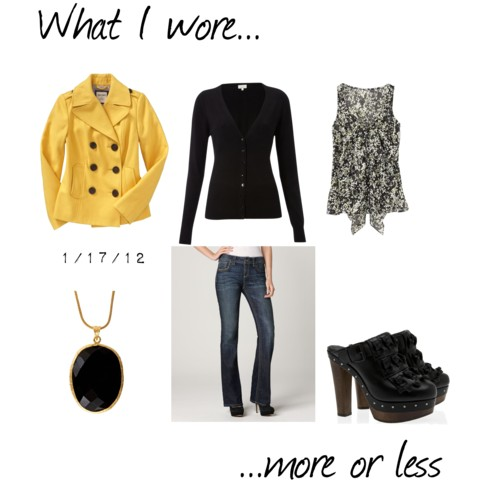 What I Wore: 1/17/12