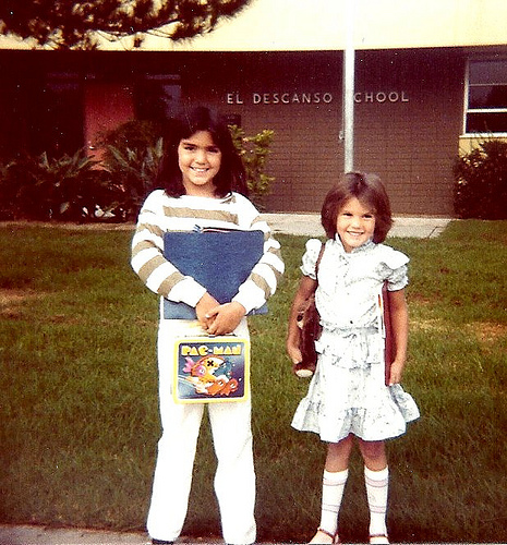 First day of school 1983