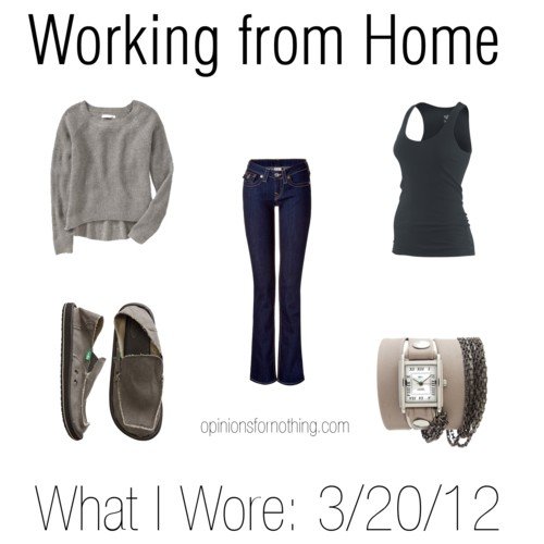 What I Wore: 3/20/12