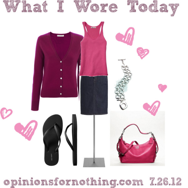 What I Wore: 7/26/12