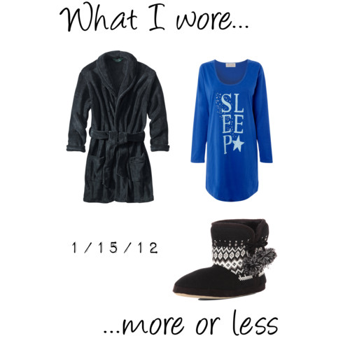 What I Wore: 1/15/12
