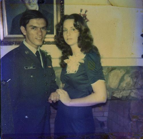 My parents' wedding day